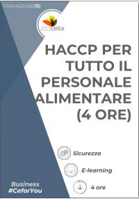 HACCP per tutto il personale alimentare