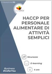 HACCP per personale alimentare di attività semplici