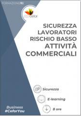 Corso Sicurezza - Lavoratori Rischio Basso - Attività Commerciali (8 Ore)