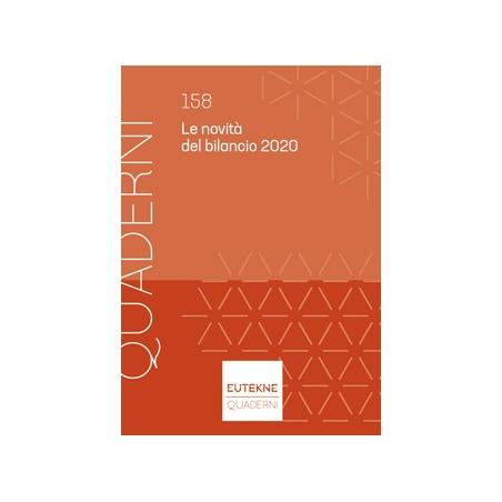 LE NOVITÀ DEL BILANCIO 2020