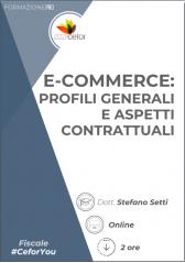 E-commerce: profili generali e aspetti contrattuali - PACK
