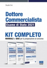 Kit Completo Dottore Commercialista Esame di Stato 2021 - Maggioli