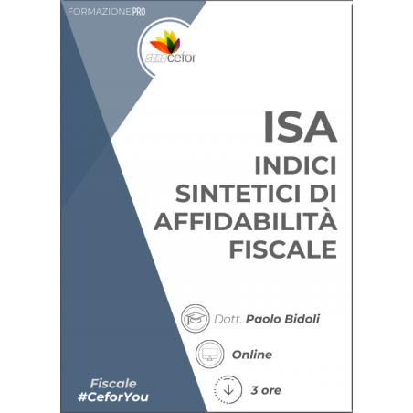 ISA: Indici Sintetici di Affidabilità fiscale - ABB