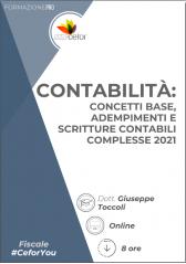 Contabilità : concetti base, adempimenti e scritture contabili complesse 2021 - ABB
