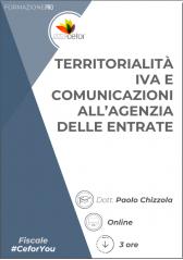 Territorialità Iva E Comunicazioni All'agenzia Delle Entrate - Pack