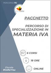 Percorso di Specializzazione in Materia IVA