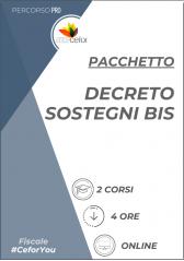 Pacchetto Decreto sostegni BIS