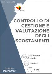 Controllo di gestione e valutazione degli scostamenti