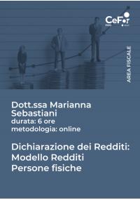 Dichiarazione dei Redditi - Modello Redditi Persone Fisiche 2021