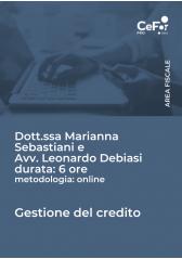 Gestione Del Credito 2021