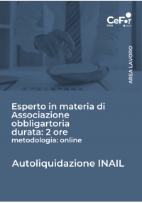 Autoliquidazione INAIL 2020/2021