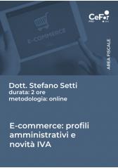 E-Commerce: Profili Amministrativi E Novità Iva 2021 - Omaggio