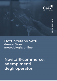 Novità e-commerce 2021: adempimenti degli operatori