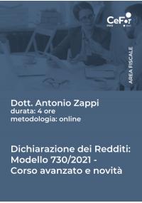 Dichiarazione dei Redditi Modello 730/2021 - Corso avanzato e novità 2021