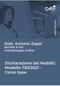 Dichiarazione dei Redditi Modello 730/2021 - Corso Base