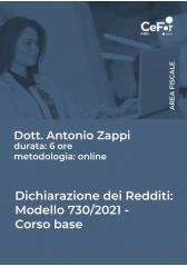 Dichiarazione Dei Redditi Modello 730/2021 - Corso Base - Abb