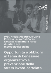 Opportunità e obblighi in tema di benessere organizzativo e prevenzione dello stress lavoro-correlato