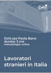 Lavoratori Stranieri In Italia: Ingresso, Soggiorno E Lavoro - Abb